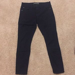 Express black jeans